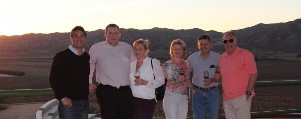 Liquorama på besök hos vinproducenter i Baja California, Mexiko