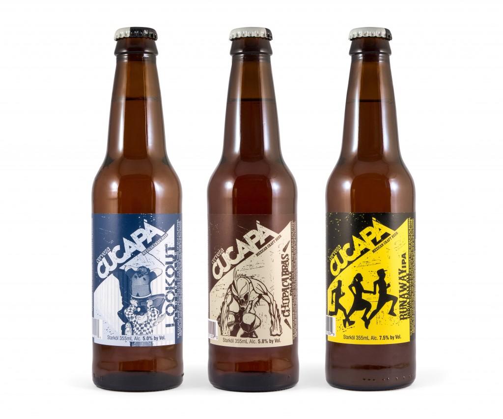 Cerveza Cucapa Trio